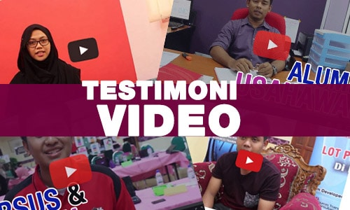 program usahawan | testi video