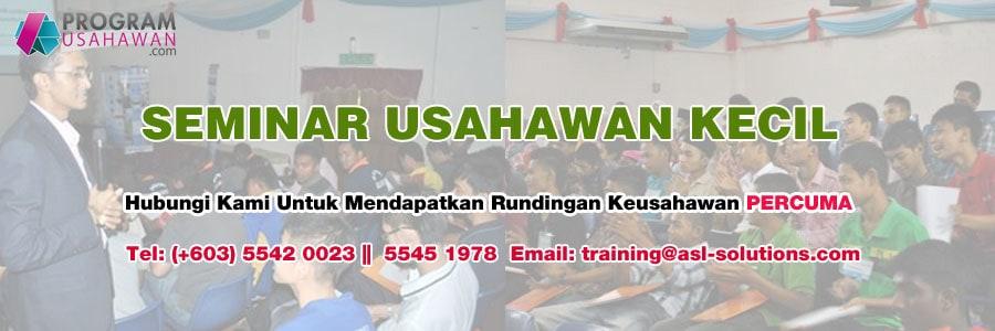 Seminar Usahawan Kecil - ASL Training