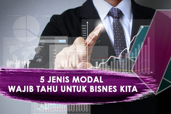 5 Jenis Modal Wajib Tahu Untuk Perniagaan