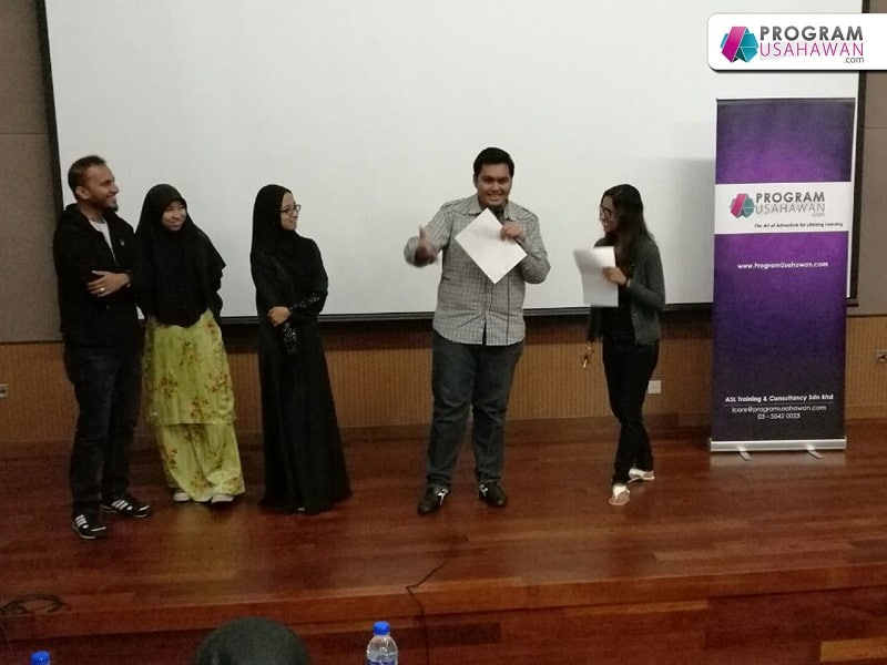 Seminar Successful Entrepreneur-usahawan baru