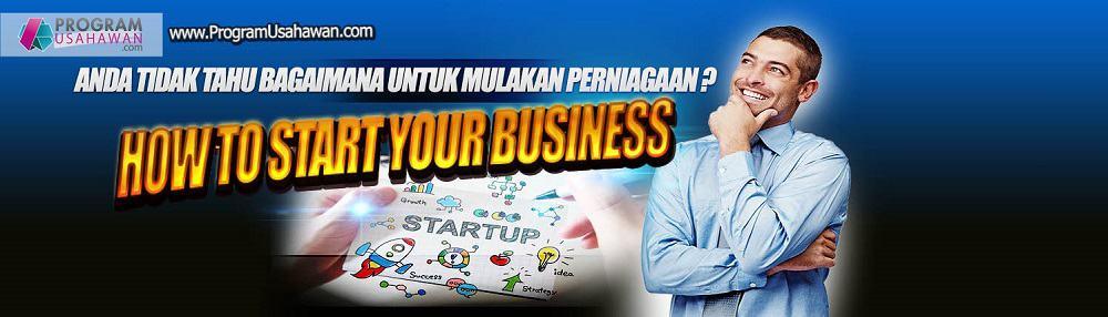 Kursus Cara memulakan perniagaan