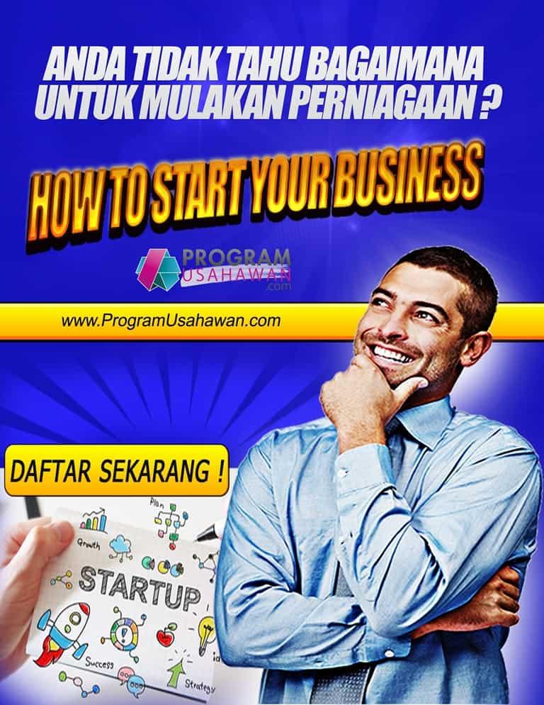 Seminar Cara memulakan perniagaan