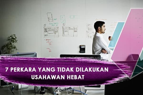 cara menjadi usahawan berjaya