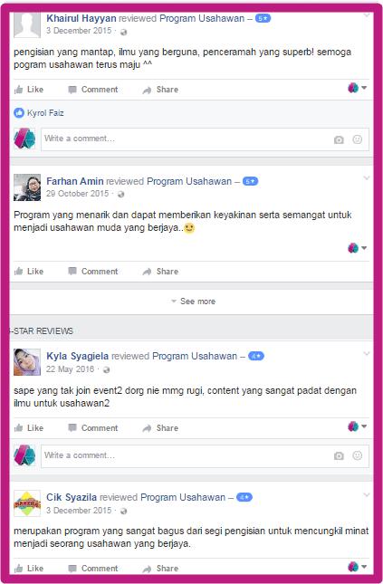 Testimoni Kursus Usahawan Malaysia
